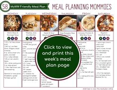 Healthy meal planning 427842033351919930 - MyWW Friendly Meal Plan 58 with green, blue, and purple points per serving! Source by MPMommies Ww Recipes, Slow Cooker Recipes, Healthy Recipes, Healthy Foods To Eat, Healthy Eating, Slow Cooker Creamy Chicken, Weight Watchers Meal Plans, Soup And Sandwich, Greens Recipe