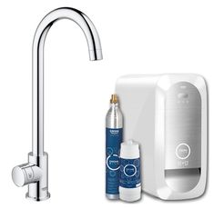 Grohe, BLUE Home Mono, C-Spout Water Filter Tap | Appliance House