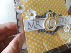 Stampin Up: Mr & Mrs