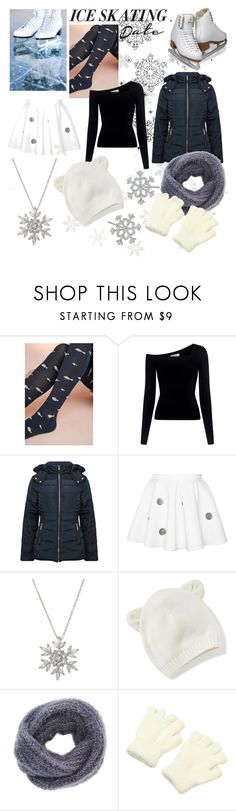"""""""Dancing on Ice"""" by strawberrysmoothie11871 ❤ liked on Polyvore featuring Hansel from Basel, A.L.C., M&Co, Giani Bernini, Old Navy, Charlotte Russe and iceskatingoutfit"""