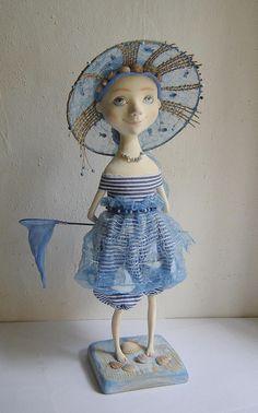 """Art Doll """"Sea Miracle"""" by Tatiana Gurina"""