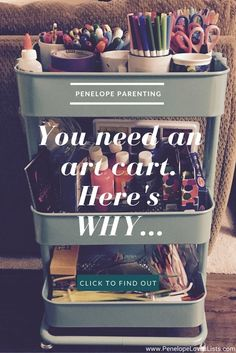 You Need to Set Up an Art Cart, and Here's Why http://penelopeloveslists.com/organize/set-up-an-art-cart/?utm_campaign=coschedule&utm_source=pinterest&utm_medium=Penelope%20Loves%20Lists&utm_content=You%20Need%20to%20Set%20Up%20an%20Art%20Cart%2C%20and%20Here%27s%20Why