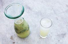Hjemmelavet ginger ale med mynte & lime - ChriChri