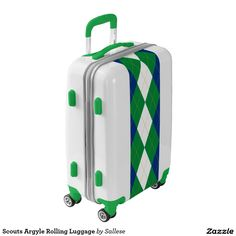 Scouts Argyle Rolling Luggage