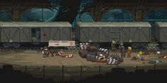 Sprites, Warfare, Game Design, Cyberpunk, Pixel Art, World War, Alice, Park, Zombie Apocolypse