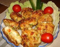 Chutné a zdravé hamburgery kuřecí maso se zeleninou a sýrem - MirTesen