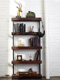 shelves     Google Image Result for http://cdn.simplifiedbuilding.com/images/projects/800/industrial-rustic-bookshelf.jpg