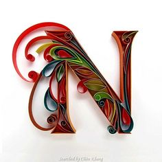 © Sabeena- Quilled ABCs 1 (Searched by Châu Khang)