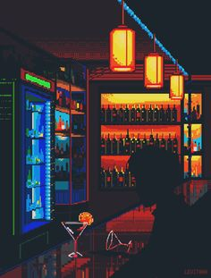 Gute Clubs/Bars (Berlin) - Best of Wallpapers for Andriod and ios Vaporwave, Pixel Art Gif, 3d Pixel, Nail Bat, Club Bar, Aesthetic Gif, Aesthetic Wallpapers, Bar Berlin, Arte 8 Bits