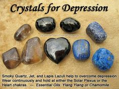 Crystals for depression? I'll do anything at this point.