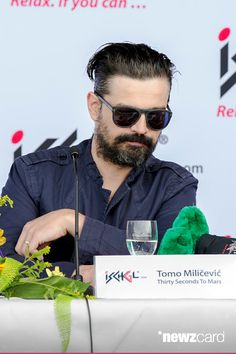 Tomo Miliceviclive talks to the media at the press conference of the Top of the Mountain concert on May 2, 2015 in Ischgl, Austria. (Photo by Jan Hetfleisch/Getty Images)
