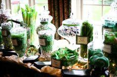 Event Soiree: Emerald Green  Inspiration