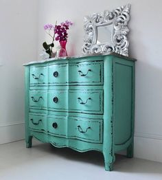 I need this!   http://www.notonthehighstreet.com/outthereinteriors/product/bronwyn-turquoise-chest-of-drawers#