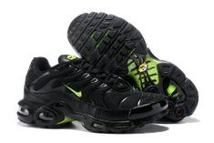 4f48922a7fc Best sell Nike Air Max Plus TN SE Black Green Men s Running Shoes Nike Air  Max