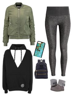 """""""#THURSDAY"""" by jadesfit on Polyvore featuring Topshop, W118 by Walter Baker and UGG"""