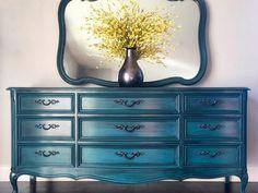 Peacock Dresser Straight Shot