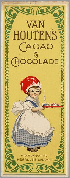 Van Houten chocolate advert.