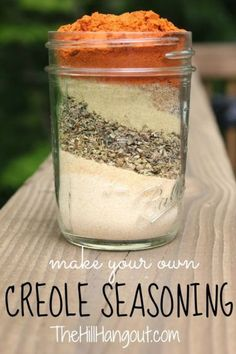 Creole Seasoning - make your own creole seasoning and add new spice to your favorite sauce, soup, chicken or fish recipe. This is much healthier than store bought seasoning!