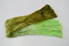 Silk Cocoon Sheet Fabric Hand Dyed Green Mix 12398 Mulberry silk felting fibre #silkforfelting #silkfibre #spinningsilk #silkforspinning #mulberrysilk Mulberry Silk, Texture Art, Needle Felting, Fiber Art, Spinning, Hands, Green, Fabric, Color