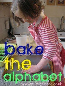 Did you ever bake the alphabet? Taking literacy out of the classroom and into the kitchen!