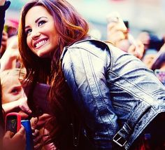 Demi Lovato-- I love her smile, voice, fashion and everything about her. She's one of these strongest people I know of.
