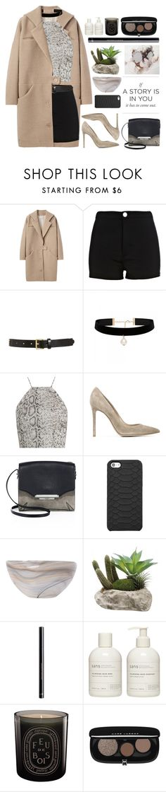 """""""Untitled #2680"""" by tacoxcat ❤ liked on Polyvore featuring Cacharel, River Island, Tory Burch, Forever New, Zimmermann, Gianvito Rossi, rag & bone, GiGi New York, Vietri and H&M"""
