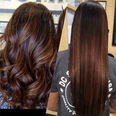 Diy Ombre Hair, Brown Ombre Hair, Brown Hair Balayage, Brown Hair With Highlights, Balayage Brunette, Light Brown Hair, Hair Color Balayage, Brown Hair Colors, Soft Balayage