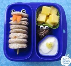Inspiration for creating fun, healthy lunches and bento lunchboxes for kids