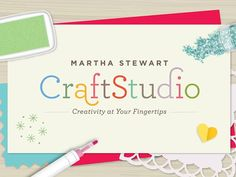 Your holidays are about to get a whole lot craftier. The Martha Stewart CraftStudio app is now available to download for free on iPad! Get your app now.