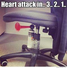 Heart attack in 3,2,1