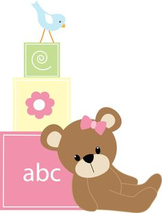 Bebê (Menino e Menina) 3 - pink blocks.png - Minus