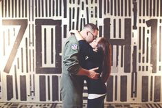 Air Force Engagement Session  Airen Miller Photography   Reverie Gallery Wedding Blog