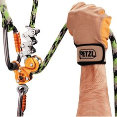 Petzl Zigzag Mechanical Prusik. I REALLY want one of these but it is supposedly intended for arborists.