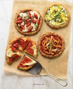 Mini Pizzas from the new Wheat Belly Cookbook | Wheat Belly Blog
