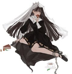 Anime Girl Cute, Kawaii Anime Girl, Anime Art Girl, Manga Art, Cute Anime Character, Character Art, Character Design, Female Characters, Anime Characters