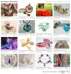 PANTAREI treasury of #Etsy items with #butterflies