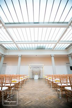 Gorgeous modern wedding venue at the Corcoran Gallery of Art! This would be perfect for a chic and glamorous wedding! {Corcoran Gallery of Art}