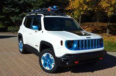 Jeep Renegade Frostbite heading to #SEMA2014