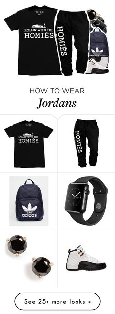 """""""•"""" by abigail-petion on Polyvore featuring Kate Spade, adidas, Retrò and Brian Lichtenberg"""