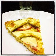 RecetasQuick: Pizza de mijo con verduras