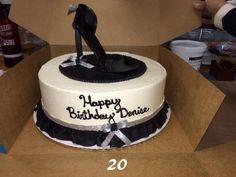 Fondant high heal cake...Celebrate your diva!