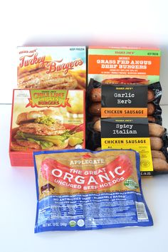 Trader Joes is the perfect place to find all of your needs! From meat to nuts to coconut milk, check out this Trader Joes List! Whole 30 Trader Joes, Trader Joes Food, Trader Joe's, Paleo Whole 30, Whole 30 Recipes, Whole30, Italian Chicken Sausage, Beef Hot Dogs, Frozen Turkey