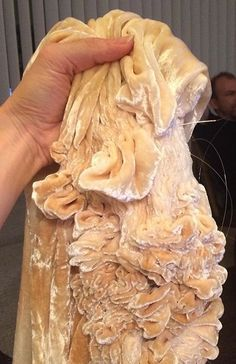 Hanne Friis Loose Skin, Textile Sculpture, Russian Folk, Fabric Manipulation, Textile Artists, Human Body, Experiment, Event Design, Fiber Art
