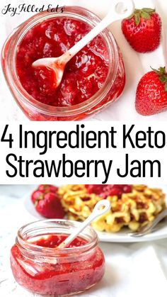 Low Carb Chicken Recipes, Healthy Low Carb Recipes, Low Carb Desserts, Ketogenic Recipes, Low Carb Keto, Ketogenic Diet, Keto Chicken, Low Sugar Snacks, Jelly Recipes