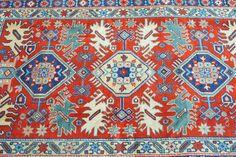 Kuba rug. Rare Bird design., $1 250.00
