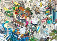 Poster EBOY MARSEILLE 2013