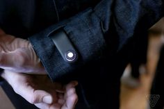 Google and Levi's smart jacket can now remind you to not leave your phone behind - The Verge Techno Gadgets, Smart Jackets, Levis, Cufflinks, Accessories, Wearable Technology, Latest Technology, Technology News