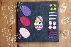 Easter Egg Felt Board