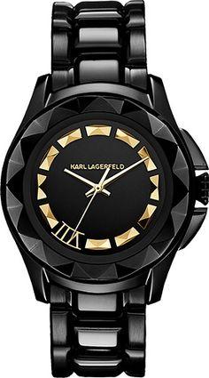 Lujoso reloj de Karl Lagerfeld!!