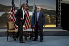 Whatsupic - Obama Pouting Putin